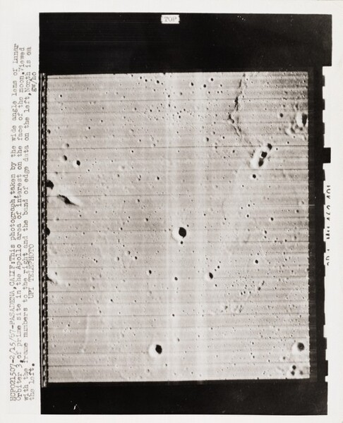 Prime Site in the Apollo Area of Interest on the Face of the Moon...