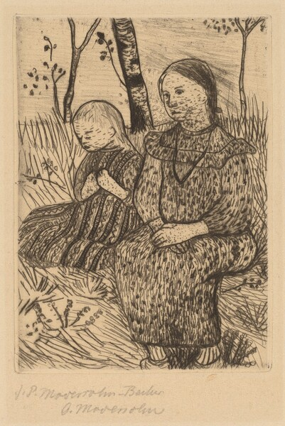 Two Peasant Girls
