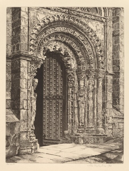 Study in Stone, Cathedral of Orense