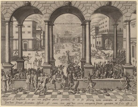 The Massacre under the Roman Triumvirate