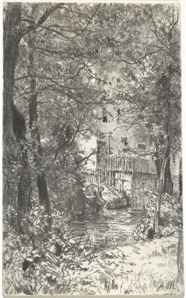 Landscape with a Washerwoman