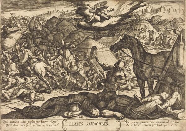 The Exterminating Angel Vanquishing the Army of Sennacherib