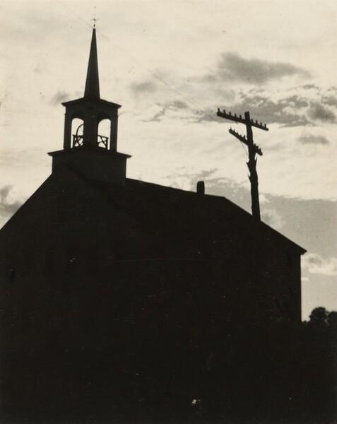 Meeting House in Shadow, Church, Falmouth, Cape Cod