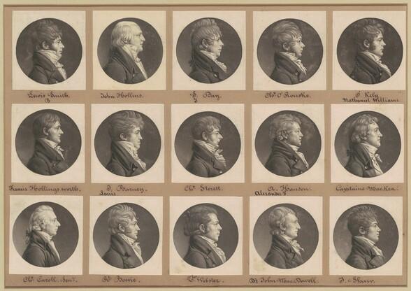 Saint-Mémin Collection of Portraits, Group 28