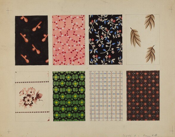 Figured Material from Quilt