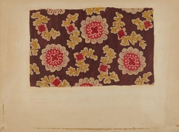 Block Printed Handkerchief