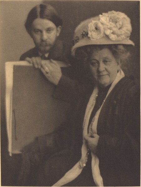 Alvin Langdon Coburn and His Mother