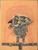Owl (rose ground)