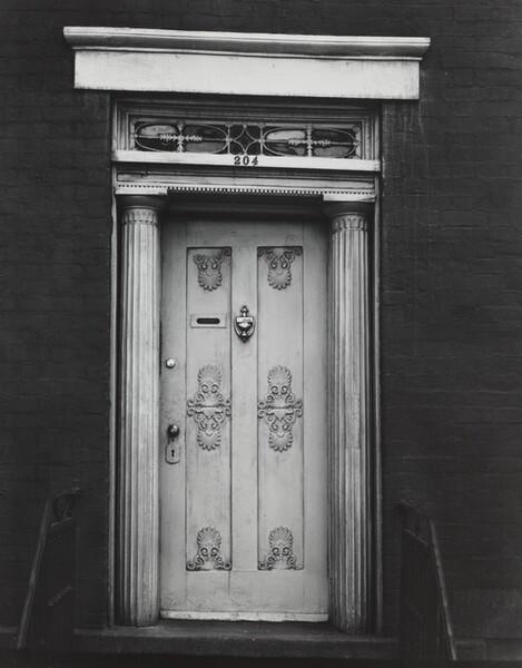 Doorway, 204 West 13th Street, New York City, around 1931