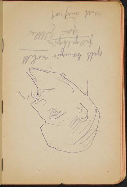 Mann und Notizen (Man with Notations) [p. 7]