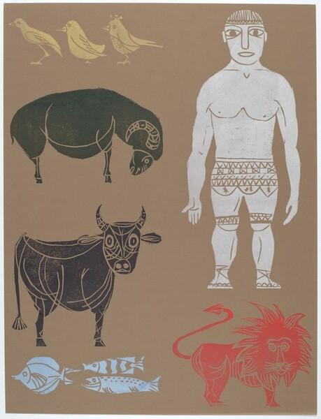 Man and Animals