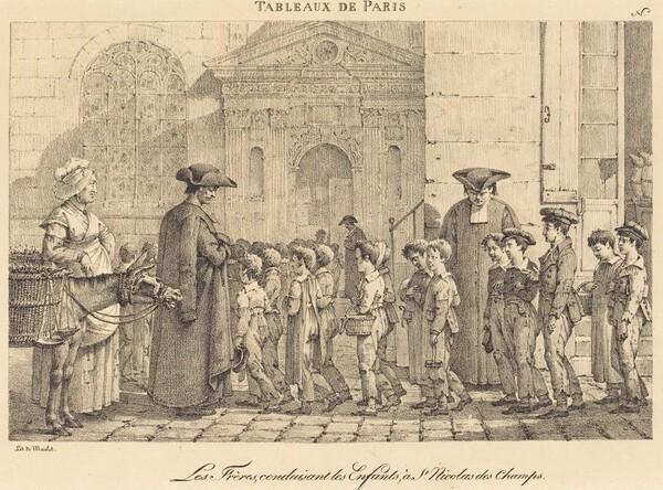 Les Frères Conduisent les Enfants, à St. Nicolas des Champs