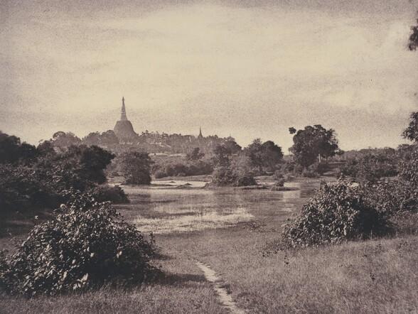Rangoon: View near the Lake