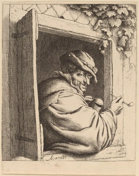 Smoker at a Window