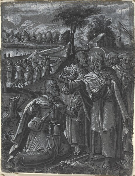 Christ Disputing with the Doctors [recto]