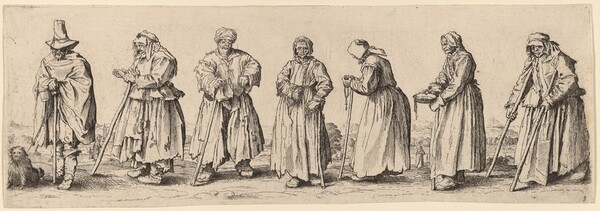 Men and Women Beggars