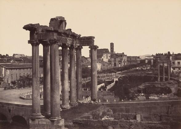 Rome, Vue Prise au Forum (Rome, View of the Forum)