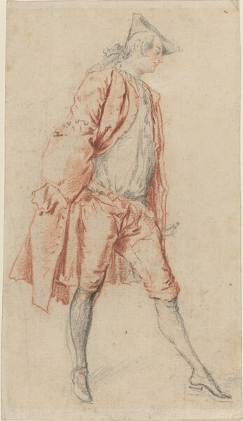 A French Gentleman Standing