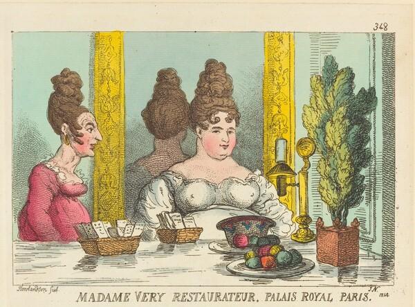 Madame Very Restaurateur, Palais Royal Paris