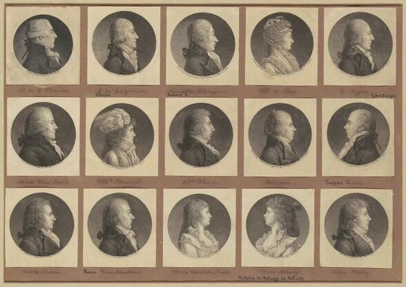 Saint-Mémin Collection of Portraits, Group 1