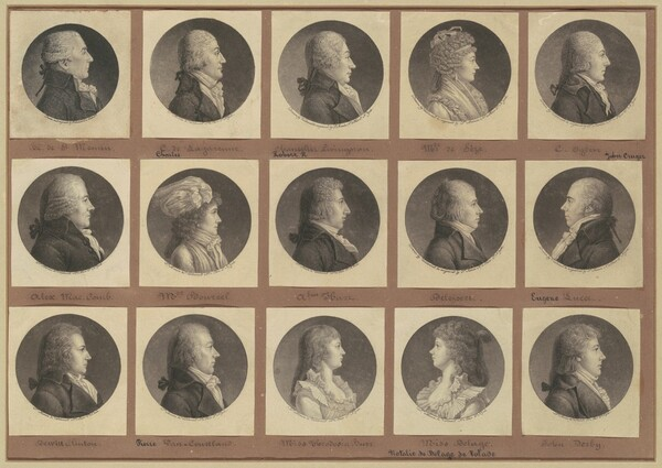 Saint-Mémin Collection of Portraits, Group 1