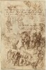 Studies for the Raising of Lazarus and Other Compositions [verso]