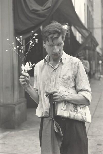Eddie on Third Avenue at 52nd Street, New York City