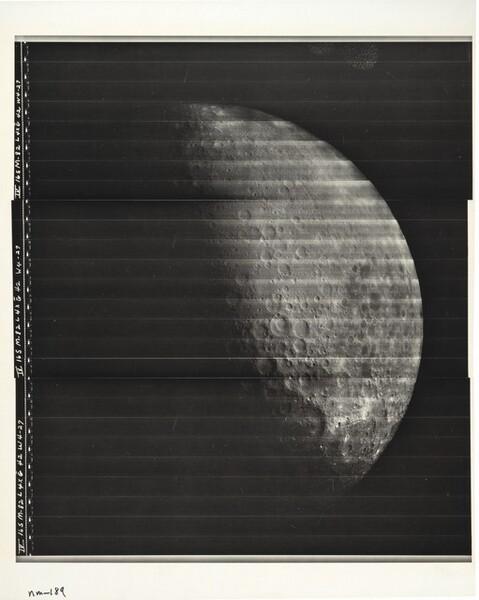 Lunar Orbiter, Medium Resolution, LOIV M-082