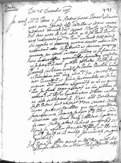ASR, TNC, uff. 11, 1593, pt. 3, vol. 27, fol. 443r