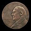 Warren G. Harding Inaugural Medal [obverse]