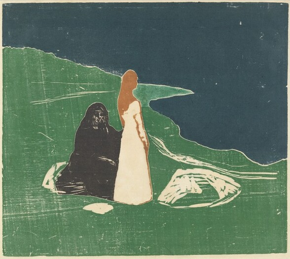 Two Women on the Shore (Frauen am Meeresufer)
