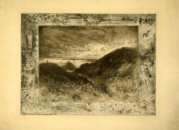 La Falaise: Baie de Saint-Malo (The Cliff: Saint-Malo Bay)