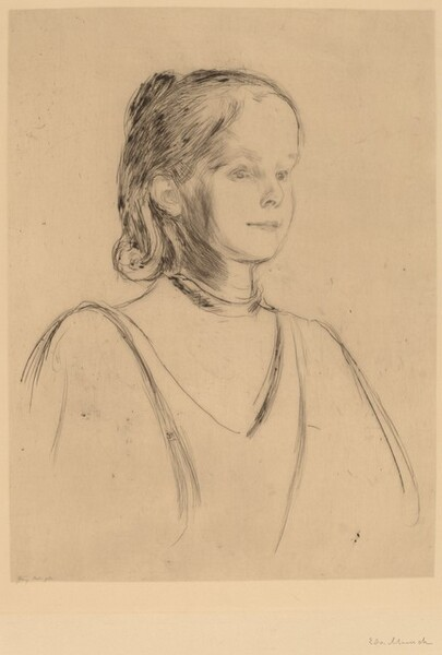 Portrait of a Young Girl (Miss Heiberg?)