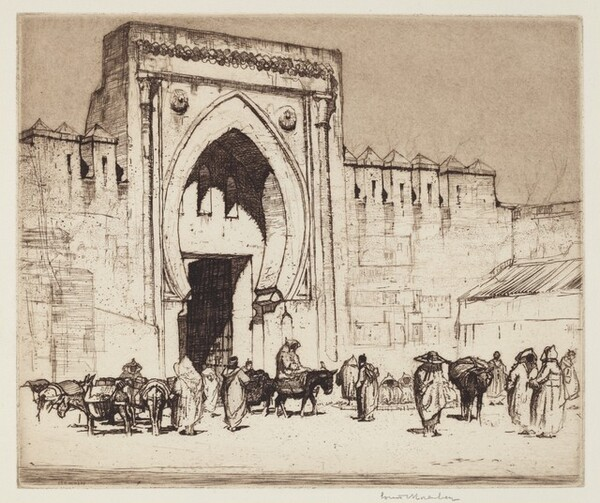 The Fez Gate, Tangiers