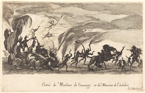 Entry of M. de Couvonge and M. de Chalabre