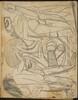 Mehrfigurige Kompositionsskizze für Frühe Menschen (Figurative Compository Sketch for Early Men) [p. 5]