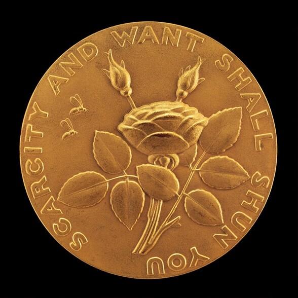 A Betrothal Medal [reverse]