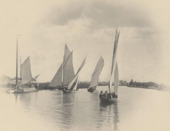 A Sailing Match at Horning