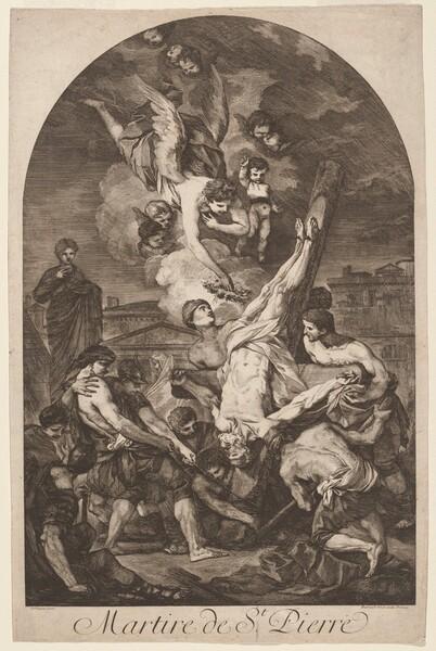 Martire de St. Pierre (The Martyrdom of Saint Peter)