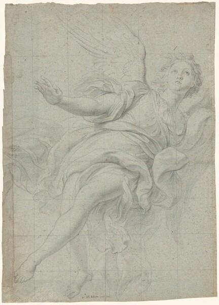Study of an Angel in Flight