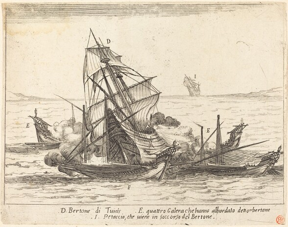 Boarding of the Bertone