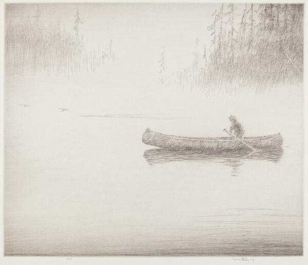 Mist on the Agawa