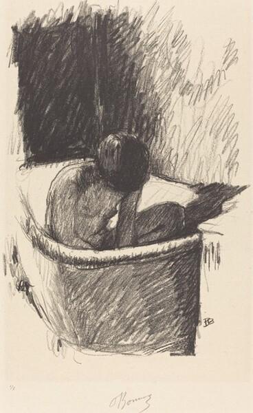 The Bath (Le Bain, première planche)