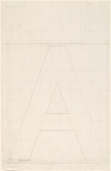 Sketch for Building - Blocks for a Doorway (A)