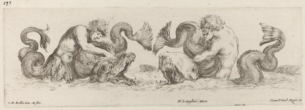 Dolphins and Tritons