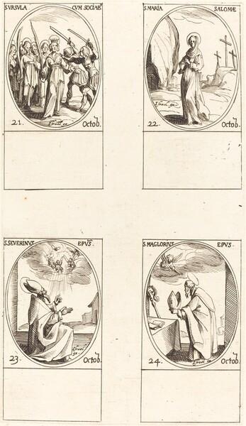 St. Ursula and Companions; St. Mary Salome; St. Severinus; St. Maglorius