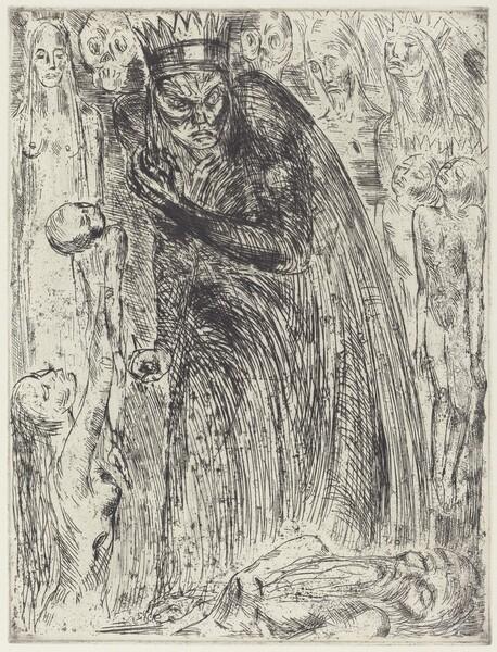 Macbeth V (The Vision of Lady Macbeth)