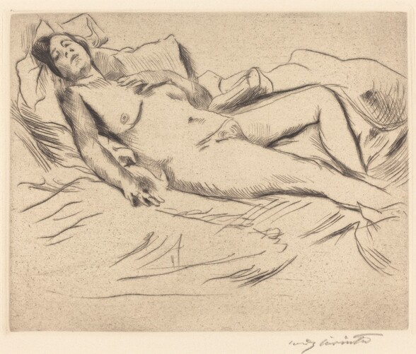 Schlafende (Sleeping Woman)