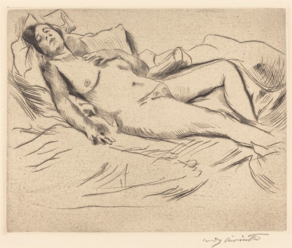 Schlafende (Sleeping Woman)