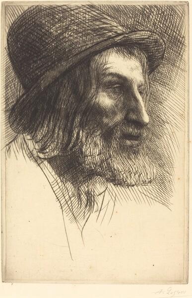Head of an English Laborer (Tete d